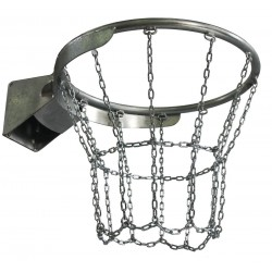 Цепная сетка для гальванизированного баскетбольного кольца, 12 пунктов установки сетки