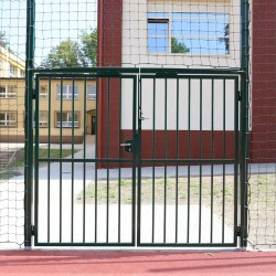 Brama stalowa do piłkochwytów na boiska zewnętrzne