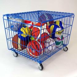 Wózek na piłki prętowy