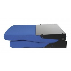 Upholstered seat ST-50-mc with folding backrest