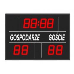 Tablica wyników sportowych ETW 70-10 - bezprzewodowa