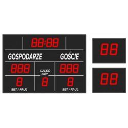 Tablica wyników sportowych ETW 100-203 - bezprzewodowa