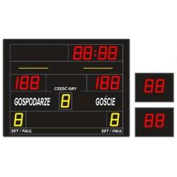 Tablica wyników sportowych ETW 130-60 - bezprzewodowa