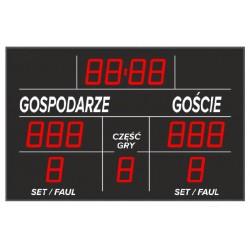 Tablica wyników sportowych ETW 155-301 - bezprzewodowa