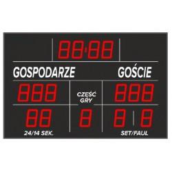 Tablica wyników sportowych ETW 155-302 - bezprzewodowa