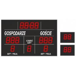 Tablica wyników sportowych ETW 155-303 - bezprzewodowa