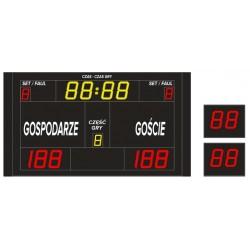 Tablica wyników sportowych ETW 220-160 - bezprzewodowa