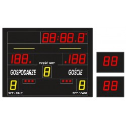 Profesjonalna tablica wyników sportowych ETW 130-60 PRO