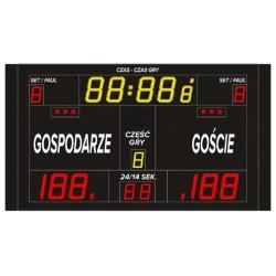 Profesjonalna tablica wyników sportowych ETW 220-130 PRO