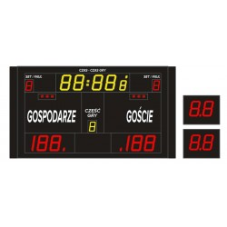 Profesjonalna tablica wyników sportowych ETW 220-160 PRO