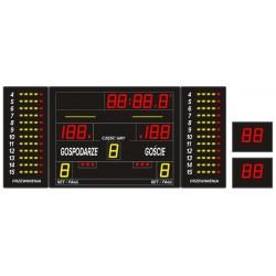 Profesjonalna tablica wyników sportowych ETW 240-80 PRO