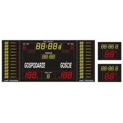 Profesjonalna tablica wyników sportowych ETW 340-185 PRO