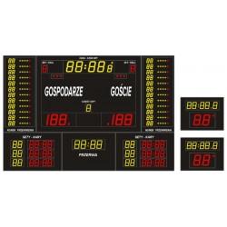 Profesjonalna tablica wyników sportowych ETW 340-205 PRO