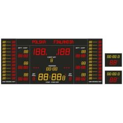 Profesjonalna tablica wyników sportowych ETW 500-500-1 PRO