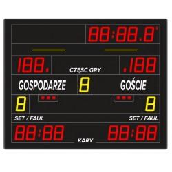 Profesjonalna tablica wyników sportowych ETW 150-10 K PRO