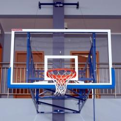 Tablica do koszykówki akrylowa 105x180 cm, grubość szkła 12 mm