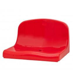 Сиденье со средней спинкой, устанавливаемое непосредственно к ступени