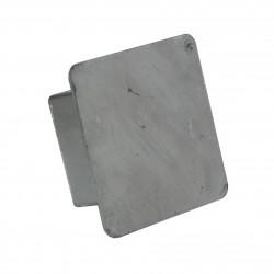 Dekiel maskujący tuleję słupka stalowego 80x80 mm
