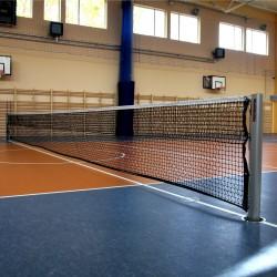 Profesjonalne aluminiowe słupki do tenisa ziemnego