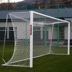 Bramki do piłki nożnej treningowe aluminiowe, przenośne 7,32x2,44 m