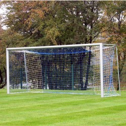 Football goals 5x2 m, oval aluminum profile