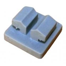 Зажим для крепления сеткя внутри алюминиевого профиля, пластмассовый