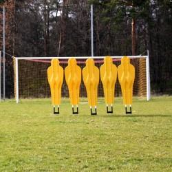 Mur treningowy uchylny do piłki nożnej (5 postaci)