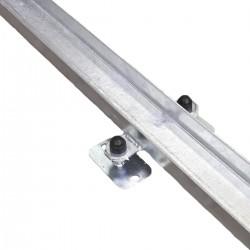Направляющие рельсы для разборки и сборки телескопического тоннеля