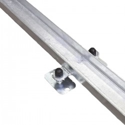 The running rail for telescopic tunnel