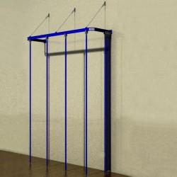 Vertical gymnastic bars