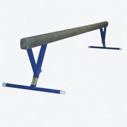 Równoważnia gimnastyczna o długości 5 m, z regulacją wysokości