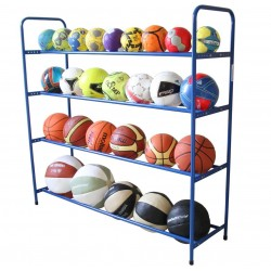 Stationary stand for balls