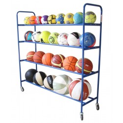 Mobile stand for balls