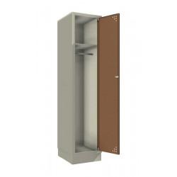 Стальной шкаф для одежды (одинарный)