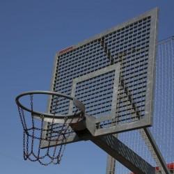 Tablica do koszykówki stalowa kratownicowa 90x120 cm