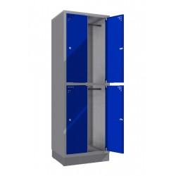 Шкаф для хранения ценных вещей четырехсекционный