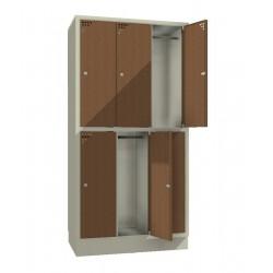 Шкаф для хранения ценностей шестисекционный