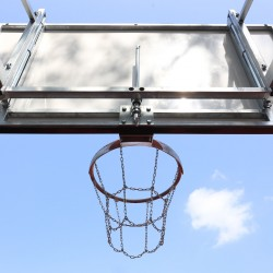 Height adjustment mechanism for basketball backboard 105x180 cm, hot dip galvanized