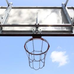 Механизм регуляции высоты баскетбольного щита 105х180 см, отделка: огневая оцинковка