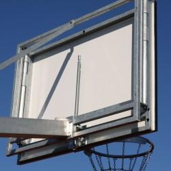 Механизм регуляции высоты баскетбольного щита 90x120 см, отделка: огневая оцинковка