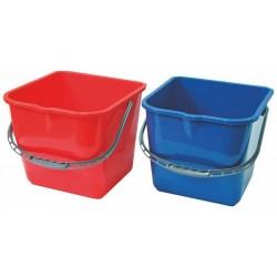 Wiadro 20 l (czerwone, niebieskie)