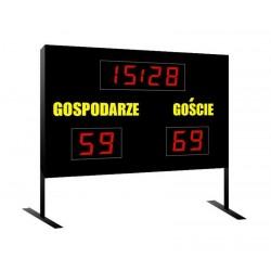 Freestanding scoreboard for outdoor sports fields - ZTW 1 ORLIK