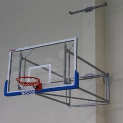 Складная баскетбольная ферма с растяжками, вынос от 230 по 330 см