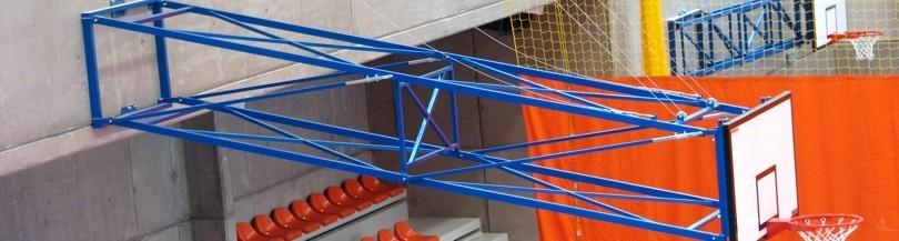 Konstrukcje naścienne do koszykówki