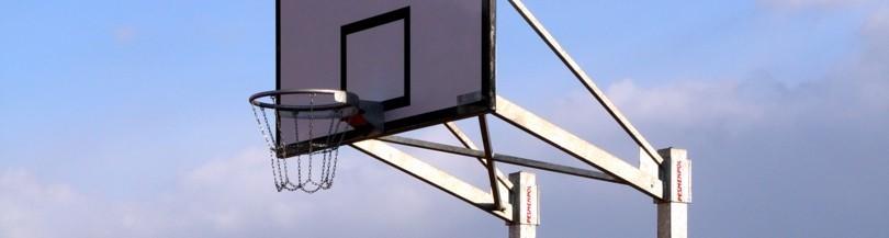 Konstrukcje do koszykówki na boiska zewnętrzne