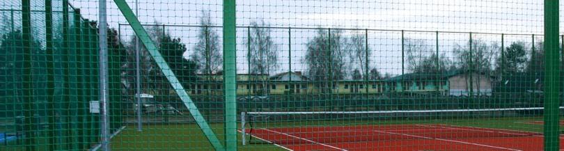 Siatki ochronne na boiska - Piłkochwyty